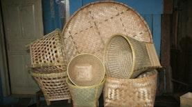Anyaman Bambu Yang Hampir Tertinggal, Di Tengah Semua Serba Plastik