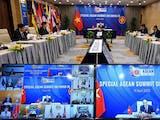 KTT Virtual Khusus, Indonesia dan Negara ASEAN Sepakat Perkuat Kerja Sama Tangani Pandemi