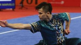 Cabor Wushu Sumbang Medali Pertama Indonesia