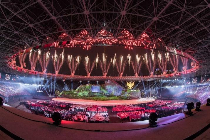 Inilah Momen Tak Terlupakan di Opening Ceremony Asian Games 2018