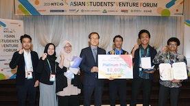 Delegasi UI Juara 1 Kompetisi Bisnis di Korea