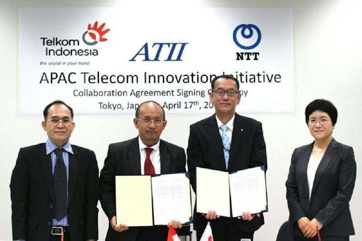 Luncurkan ATII, Telkom Rintis Sinergi Infrastruktur Virtual di Asia – Pasifik