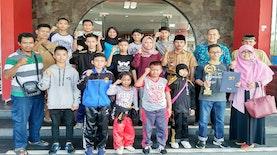 Atlet Taekwondo Bengkulu Sabet 12 Emas Menhan Cup