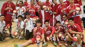 Raih Emas, Merah Putih Berkibar di Cabang Basket AUG 2016