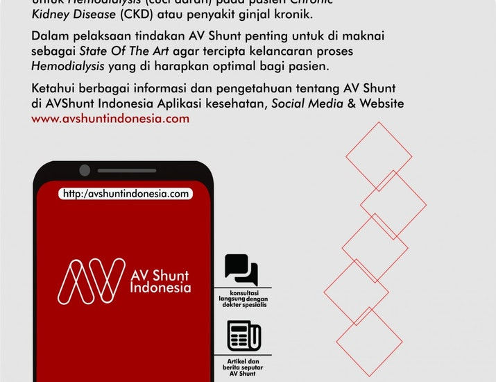 Peluncuran Aplikasi Kesehatan (AV Shunt Indonesia) Menyambut World Kidney Day