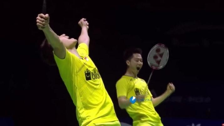 Hebat! Pasangan Ganda Putra Indonesia Raih Juara di China Open Super Series 2017