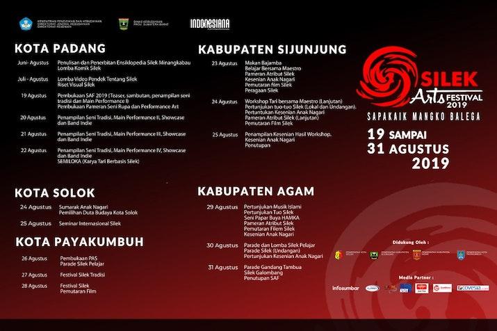 Silek Arts Festival (SAF) di Sumatera Barat Platform Indonesiana Kemendikbud Kembali Digelar