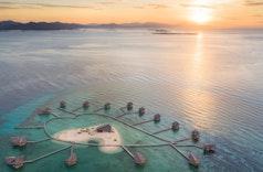 Keindahan Pulau Cinta yang Bikin Jatuh Cinta