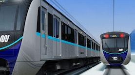 12 Gerbong MRT Dari Jepang Sudah Tiba di Tanah Air