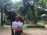 Kebutuhan Pangan Satwa di Kebun Binatang Tercukupi Berkat Orang Baik