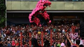 Tim Barongsai Asal Indonesia Juara di Tiongkok