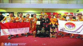 Grup Barongsai Indonesia Raih Juara 1 di Ajang Borneo Traditional Lion Dance Competition Malaysia 2019