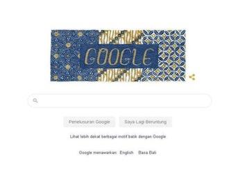 Google Merayakan Hari Batik Nasional Melalui Doodle