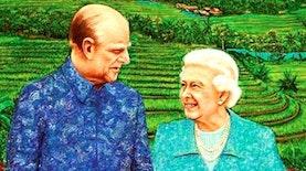 Batik Indonesia Untuk Ratu Kerajaan Inggris