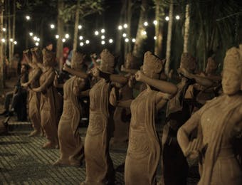 Ada Ratusan Patung Gandrung di Ujung Timur Pulau Jawa? Seperti Apa?