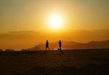 Pantai Pulau Merah, Eksotisme Senja di Ujung Timur Pulau Jawa
