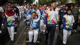 Secercah Cahaya Obor Menyambut Asian Para Games 2018 Jakarta