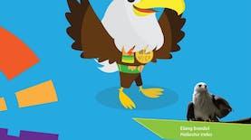 Kenalan dengan si Elang bondol Maskot Asian Para Games 2018, yuk!