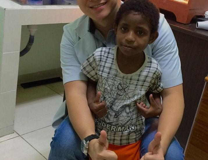 Benedictus Andries, Dokter Muda yang Ingin Tuntaskan Malaria di Timika
