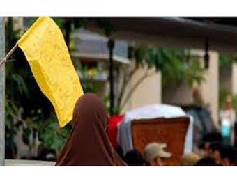 Inilah Alasannya Bendera Kuning jadi Simbol Berduka.