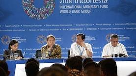 4 Hal yang Dibawa Indonesia pada Pertemuan Tahunan IMF-World Bank 2018. Apa Saja?
