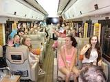 Kereta api wisata manjakan para wisatawan, intip yuk apa saja fasilitasnya!