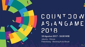 Spektakuler! Kemeriahan Countdown Menuju Asian Games 2018