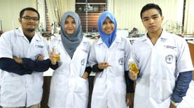 Usung Pangan Berbasis Serangga, Mahasiswa UB Wakili Indonesia di Swiss