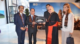 Waw! Taman Borobudur Hadir di Vatikan sebagai Simbol Keberagaman dan Harmoni
