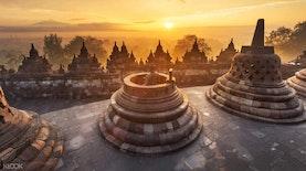 Kegigihan Ipda Kukuh Kembalikan Kejayaan Batik Indigo Borobudur