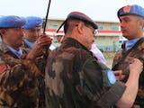 Gambar sampul Langganan Kirim Pasukan Misi Perdamaian Dunia, Tentara Indonesia Dianugerahi United Nations Medal di Afrika Tengah