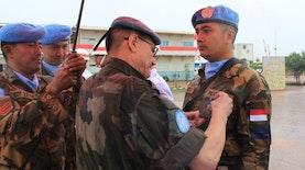 Langganan Kirim Pasukan Misi Perdamaian Dunia, Tentara Indonesia Dianugerahi United Nations Medal di Afrika Tengah