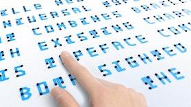 Kini Disabilitas Netra Bisa Belajar Bahasa Indonesia dengan KBBI Braille