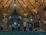 Gambar sampul Masjid Saka Bu'ana Masjid Bambu Terbesar Di Indonesia
