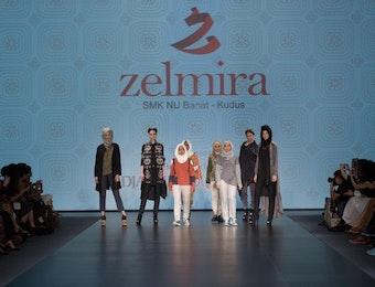 Busana Karya 4 Siswa SMK Ini Tampil di Asia's Fashion Spotlight Hong Kong