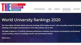 6 PTN Indonesia Masuk Daftar Kampus Terbaik Asia 2020 Versi THE