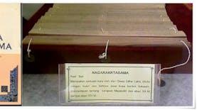 Kitab Negarakertagama Diakui Sebagai Memori Dunia