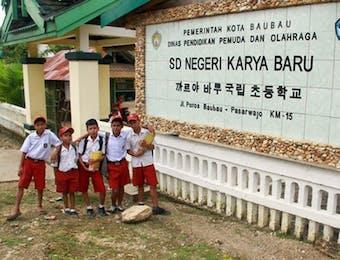 Mengenal Kampung Korea di Sulawesi Tenggara