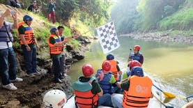Dulunya Tercemar, Kini Sungai Ciliwung  Telah Resmi Menjadi Tempat Ekowisata
