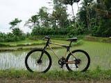 Coba yuk, sepeda bambu asli dari Temanggung
