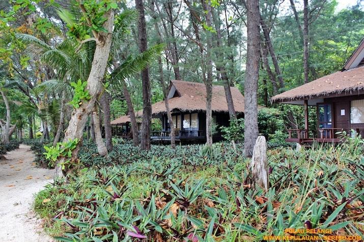 Pulau Pelangi Wisata Dengan Memiliki Cottage Bungalow