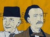 Gambar sampul Eduard dan Ernest Douwes Dekker, Nama Sama Beda Persona
