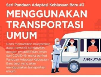 Tips Aman Menggunakan Transportasi Umum di Masa Adaptasi Kebiasaan Baru