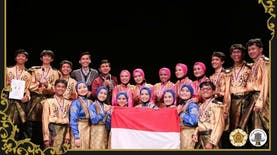 Kembali Harumkan Nama Indonesia, Sanggar Kesenian ini Juara Umum di Perancis