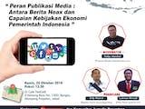 Komunitas Media Selenggarakan Diskusi Anti Berita Hoax dan Capaian Kinerja Pemerintah