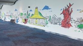 Perbedaan Mural dan Graffiti, Gambar yang Percantik Gang dan Jalanan