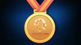 Unik! Medali Asian Games 2018 Bercorakkan Batik