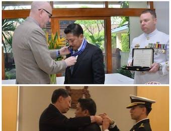 Dr Marsetio Terima Penghargaan Militer dari Australia