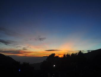 Bromo, Gejolak Sunrise Musim Hujan