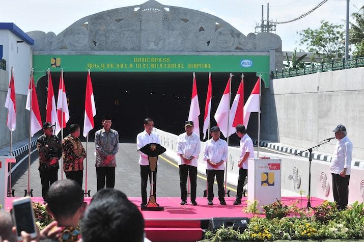 Underpass Terpanjang di Indonesia Resmi Beroperasi